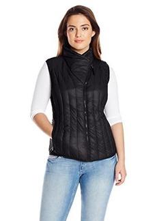 Calvin Klein Performance Women's Drama Collar Sunburst Down Filled Vest