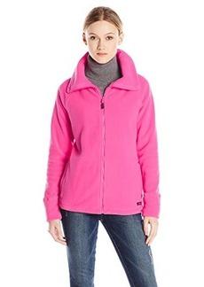 Calvin Klein Performance Women's Polar Fleece Jacket with Stand Up Collar
