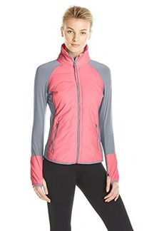 Calvin Klein Performance Women's Ripstop Jacket with Knit Sleeves