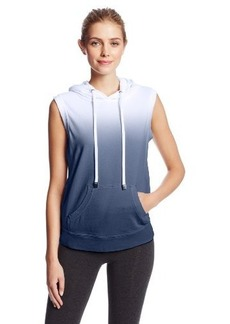 Calvin Klein Performance Women's Sleeveless French Terry Hooded Top
