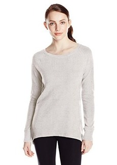 Calvin Klein Performance Women's Thermal Top with Back Zipper Detail