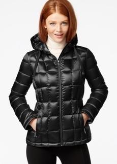 Calvin Klein Petite Packable Hooded Puffer Jacket