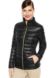 Calvin Klein Petite Packable Quilted Down Puffer Coat