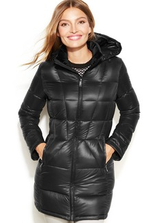 Calvin Klein Petite Packable Quilted Down Puffer Jacket