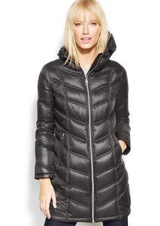 Calvin Klein Petite Quilted Down Packable Puffer Coat