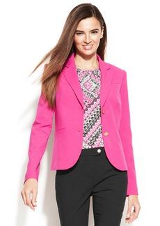 Calvin Klein Petite Two-Button Blazer