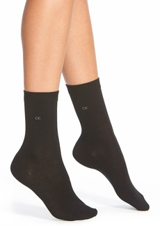 Calvin Klein Pima Cotton Crew Socks