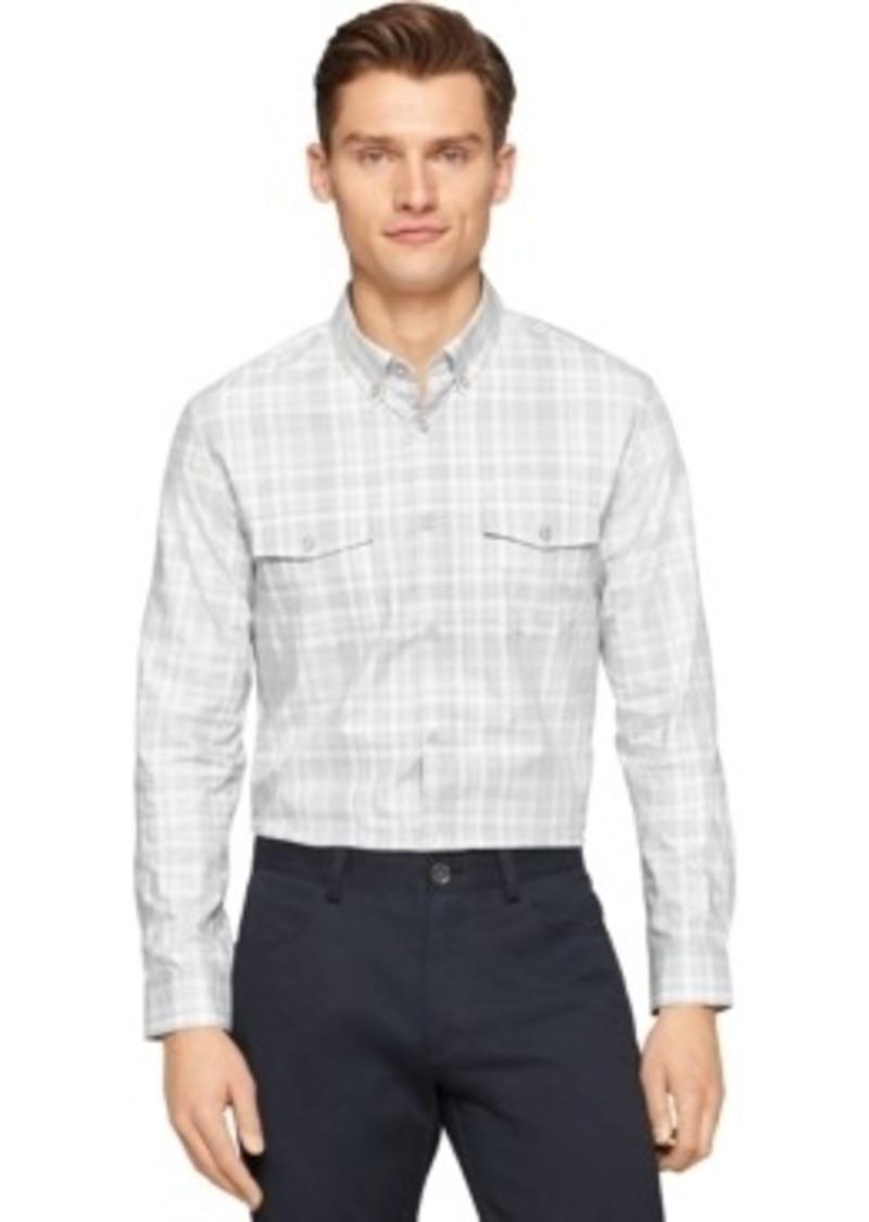 Calvin Klein Calvin Klein Plaid Check Button Down Shirt
