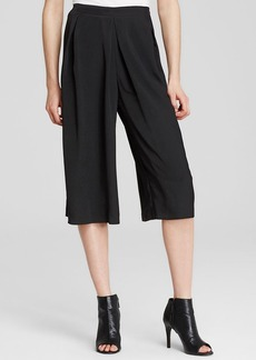 Calvin Klein Pleat Front Culottes