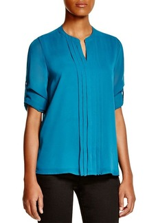 Calvin Klein Pleated Blouse