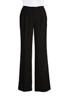 CALVIN KLEIN Pleated Straight-Leg Pants