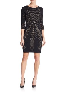 Calvin Klein Pointelle Sheath Dress
