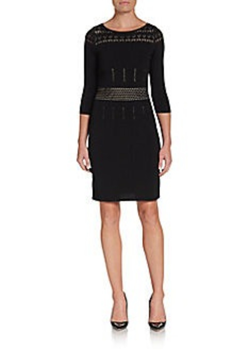 Calvin Klein Pointelle Sweater Dress