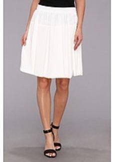 Calvin Klein Poly Chiffon Circle Skirt w/ Chiffon