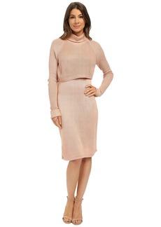 Calvin Klein Pop Over Sweater Dress