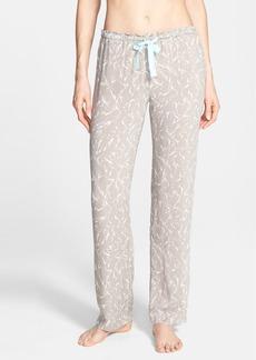 Calvin Klein Print Viscose Pajama Pants