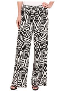Calvin Klein Print Wide Leg Pants