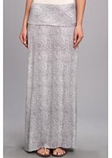 Calvin Klein Printed Maxi Skirt