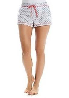 Calvin Klein Printed Pajama Shorts