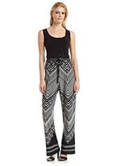 Calvin Klein Printed Pant Jumpsuit
