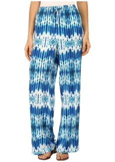 Calvin Klein Printed Wide Leg Pants