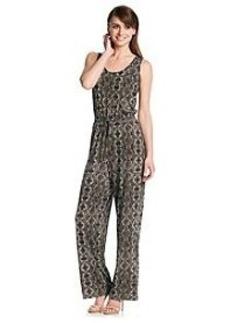Calvin Klein Python Jersey Jumpsuit