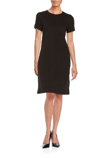 CALVIN KLEIN Quilted Shift Dress