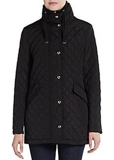 Calvin Klein Quilted Three-Quarter Jacket
