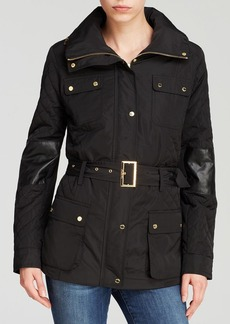Calvin Klein Quilted Utility Jacket