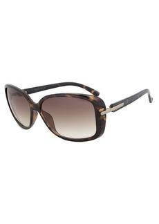 Calvin Klein R673S 206 Dark Tortoise Square Sunglasses Size 58-14-135
