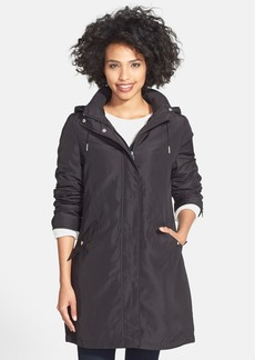 Calvin Klein Raincoat with Removable Hood & Lining