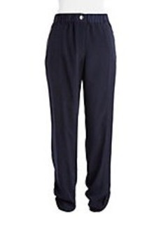 CALVIN KLEIN Relaxed Roll-Tab Trousers