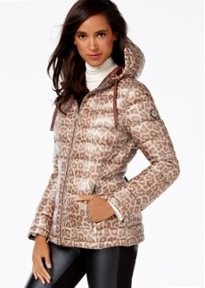 Calvin Klein Reversible Printed Puffer Coat