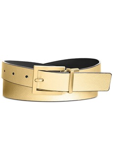 Calvin Klein Reversible Saffiano Leather Belt