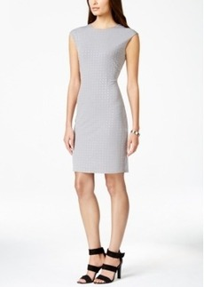 Calvin Klein Rhinestone Sheath Dress