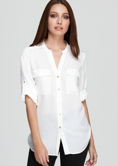 Calvin Klein Roll Sleeve Shirt