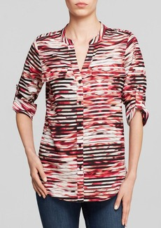 Calvin Klein Roll Sleeve Shirt