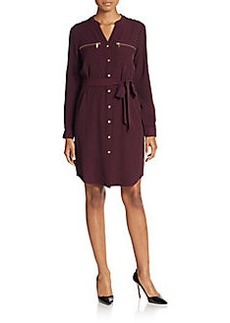 Calvin Klein Roll-Tab Sleeve Shirtdress