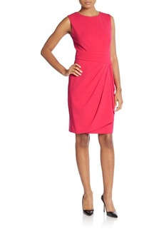 Calvin Klein Ruched Dress