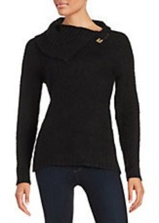 CALVIN KLEIN Safety Pin Sweater