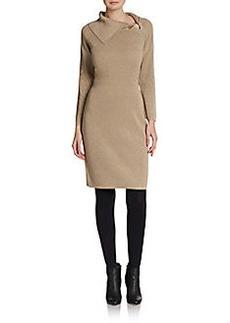 Calvin Klein Saftey Pin Lurex Shift Dress