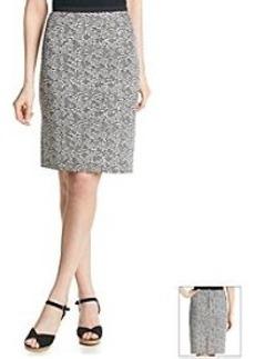 Calvin Klein Scuba Pencil Skirt