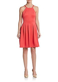 Calvin Klein Seamed Fit-And-Flare Dress