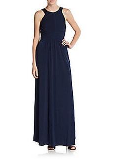 Calvin Klein Sequined Strap Gown