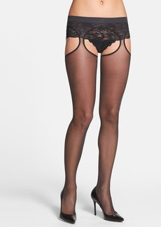 Calvin Klein Sheer Garter Stockings
