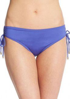 Calvin Klein Shirred Bikini Bottom