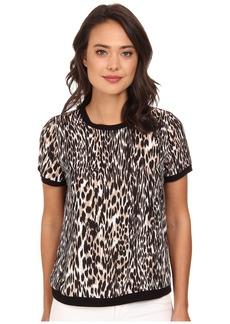 Calvin Klein Short Sleeve Printed Pullover