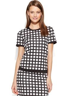 Calvin Klein Short-Sleeve Printed Top