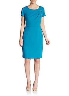 Calvin Klein Short Sleeve Sheath Dress
