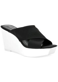 Calvin Klein Shyna Platform Wedge Sandals